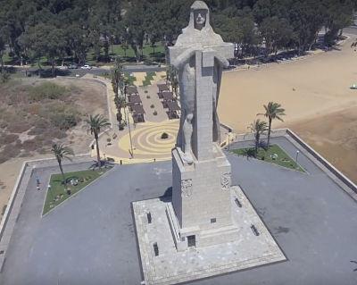Monumento a Colón - a la Fe Descubridora de Huelva