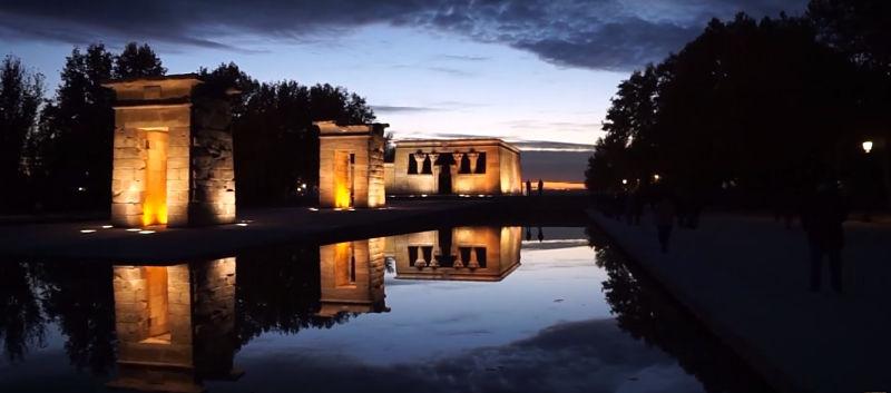 Templo de Debod en tu escapada de fin de semana a Madrid