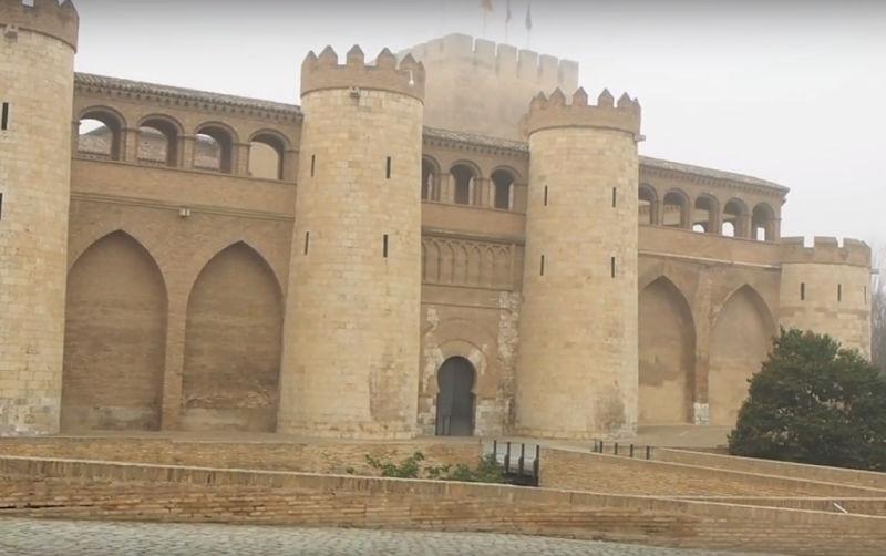 Visitar el Palacio de la Aljafería en Zaragoza