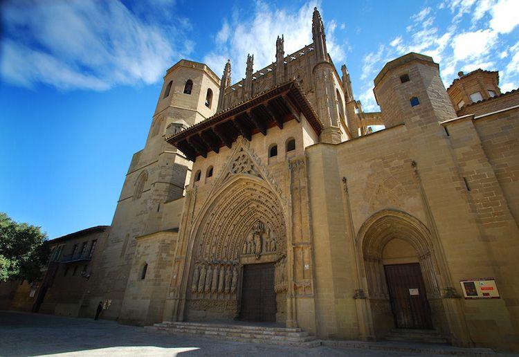 La Catedral de Huesca desde el Exterior