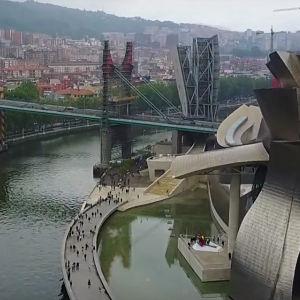 Vista aérea de Bilbao