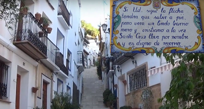 Barrio de Santa Cruz en tu escapada defin de semana a Alicante