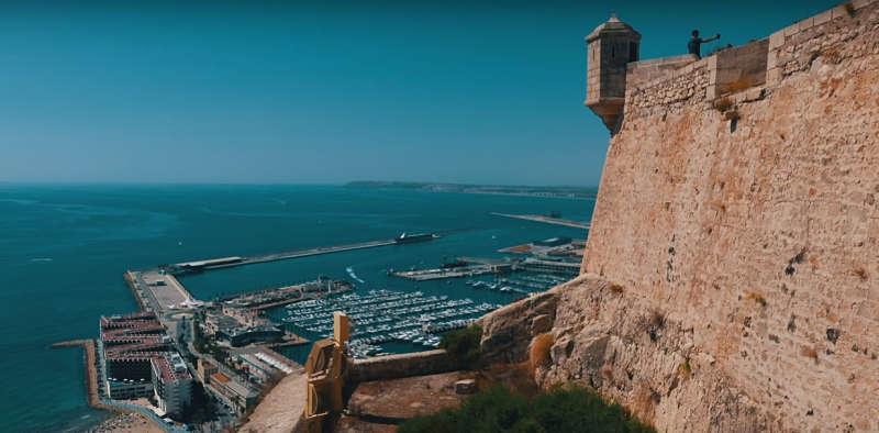 Castillo de Santa Bárbara en tu escapada de fin de semana en Alicante