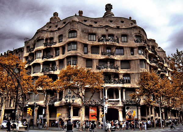Edificio Pedrera en Barcelona