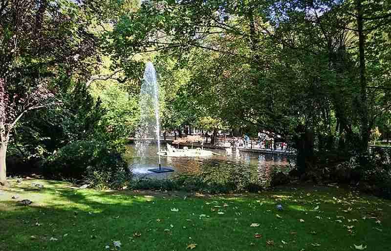 Parque de San Francisco en Oviedo