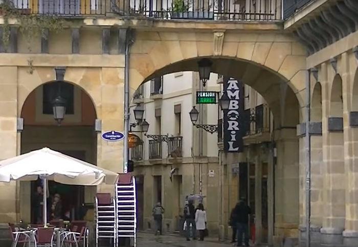 Pasear por el casco viejo de San Sebastián