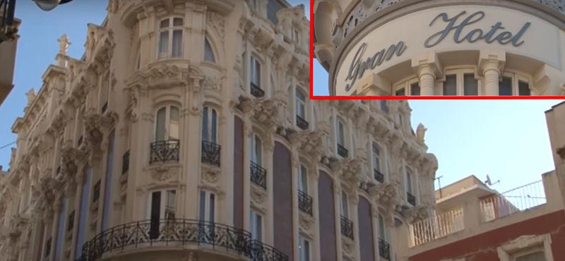 Visita el gran hotel en Cartagena (España)