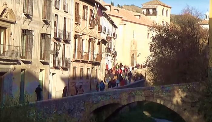 Un paseo por el Barrio del Albaicín en Granada