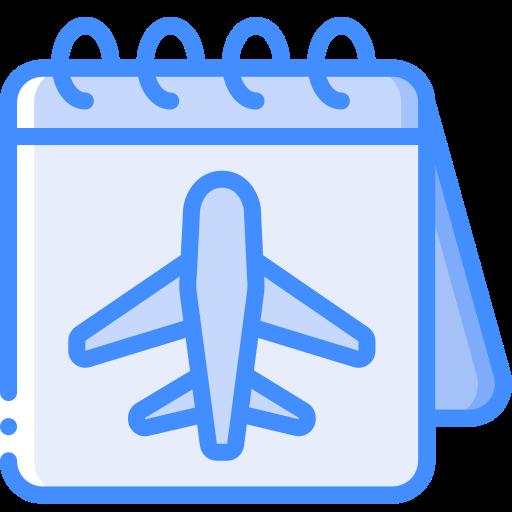 Calendario de viajes